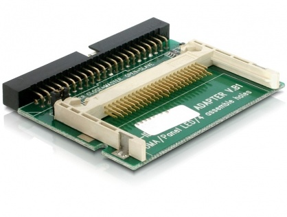 Cititor de carduri IDE 44 pini la Compact Flash, Delock 91653