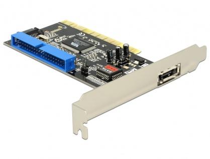 Placa PCI la 1 x eSATA, 1 x SATA, 1 x IDE, Delock 70156
