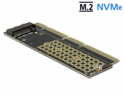 PCI Express x16 (x4 / x8) la un port NVMe M.2 Key M pentru Server 1U, Delock 90303