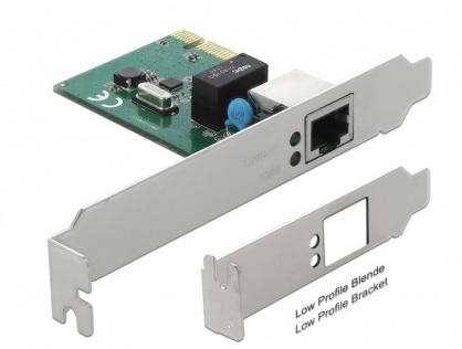 PCI Express cu un port Gigabit LAN, Delock 90381