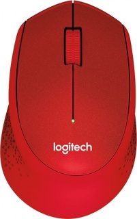 Mouse wireless Red M330 Silent, Logitech