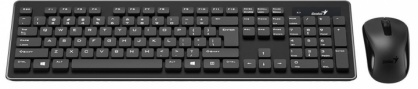 Kit Wireless Tastatura + Mouse SlimStar 8006, Genius