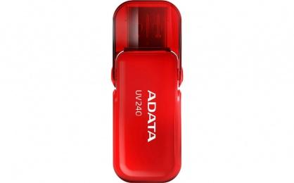 Stick USB 2.0 cu capac pliabil 32GB UV240 Rosu, ADATA