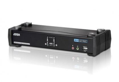 Distribuitor KVMP USB DVI Dual Link 2 porturi, ATEN CS1782A