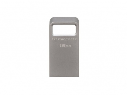 Stick DataTraveler Micro 16GB USB 3.1/3.0, Metal, Kingston DTMC3/16GB