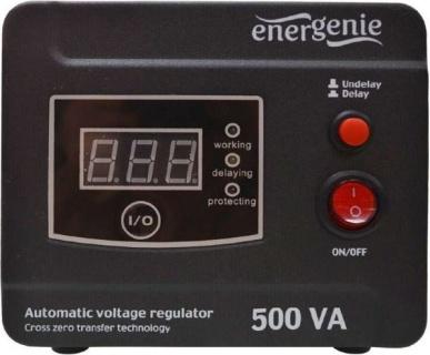 Stabilizator tensiune (AVR) 500VA/ 300W, Energenie EG-AVR-D500-01