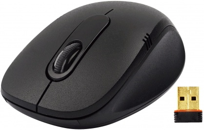 "MOUSE A4TECH G3 Wireless 2.4G, V-track Padless, Black ""G3-630N"""