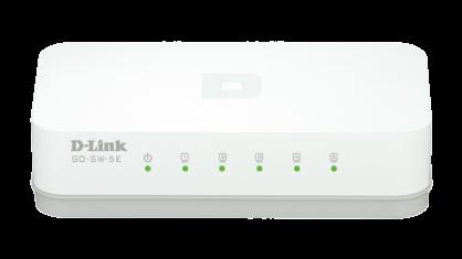 Switch 5 porturi 10/100 Mb/s, D-LINK GO-SW-5E