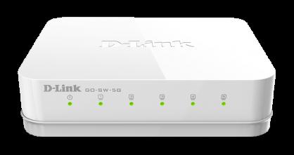 Switch 5 porturi Gigabit, D-LINK GO-SW-5G