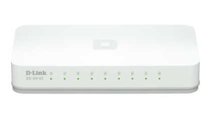 Switch 8 porturi 10/100 Mb/s, D-LINK GO-SW-8E