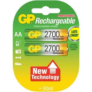 Set 2 acumulatori AAA 2700mAh, GP Batteries