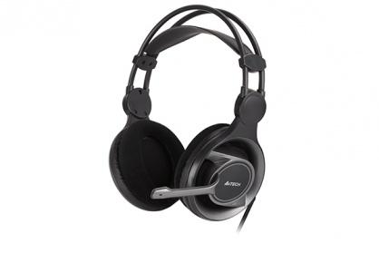 Casti Stereo cu microfon ComfortFit, A4Tech HS-100