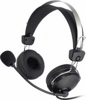 Casti cu microfon flexibil Comfortfit, A4TECH HS-7P