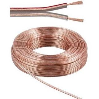 Rola cablu pentru difuzor 2 x 0,75mm 10m