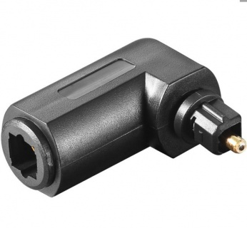 Adaptor audio optic Toslink unghi T-M, KJTOSRED10
