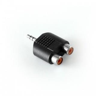 Adaptor audio jack stereo 3.5mm la 2 x RCA T-M, KTCBLHE21105