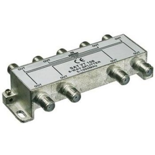 Splitter coaxial (antena tv) 8 porturi 5-1000 MHz