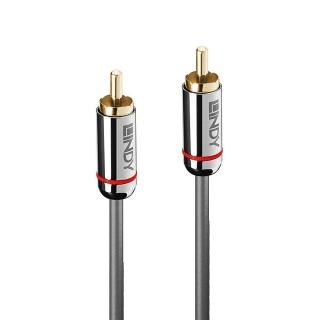 Cablu audio Digital Coaxial 3m T-T Cromo Line, Lindy L35341