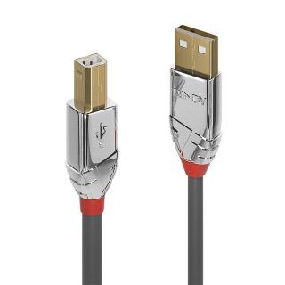 Cablu USB tip A la B T-T 7.5m Cromo Line, Lindy L36645