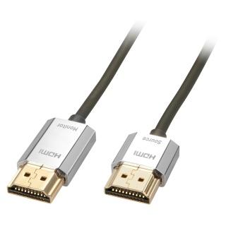 Cablu HDMI activ 4K 2.0 Premium CROMO Slim T-T 3m, Lindy L41675