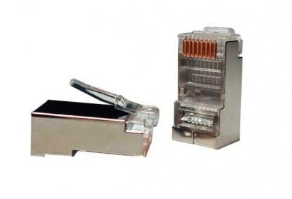 Conector RJ45 cat.5 ecranat, Gembird PLUG5SP