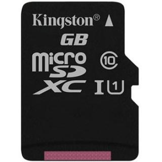 Card de memorie micro SDXC Canvas Select 128GB clasa 10, Kingston SDCS/128GBSP