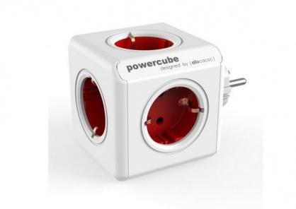 Priza cubica Power Cube cu 5 x prize Schuko 16A, ALLOCACOC