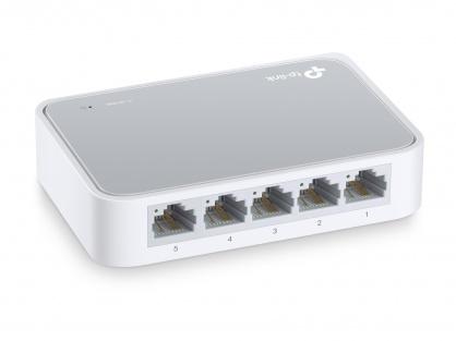Switch 5 porturi 10/100 Mbps, TP-LINK TL-SF1005D