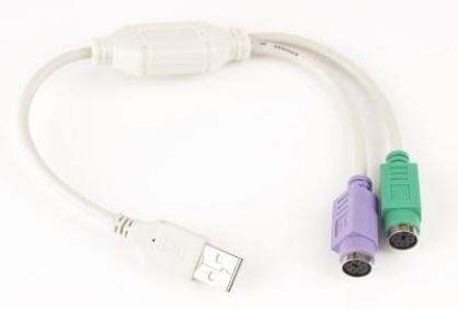 Cablu convertor USB la 2XPS2, Gembird UAPS12