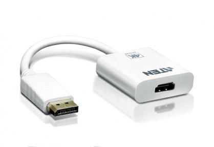 Adaptor activ DisplayPort la 4K HDMI T-M Alb, ATEN VC986