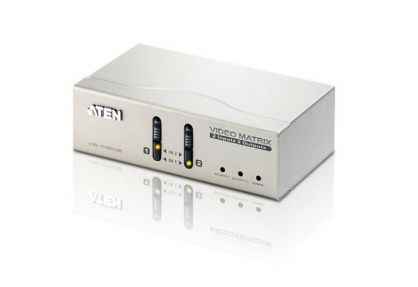 Video Matrix VGA/Audio 2 x 2, Aten VS0202