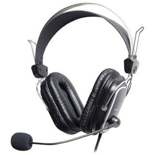 Casti Profesionale cu microfon Negru, A4Tech HS-60