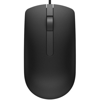 Mouse negru USB, Dell MS116