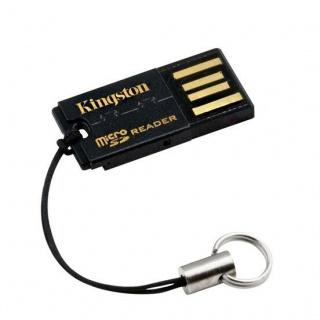 Cititor de carduri USB 2.0 la micro SD/micro SDHC/micro SDXC, KINGSTON FCR-MRG2