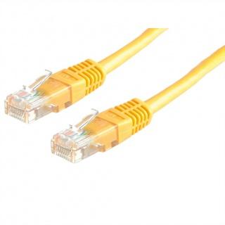 Cablu de retea RJ45 MYCON UTP Cat.6 3m Galben, CON1552