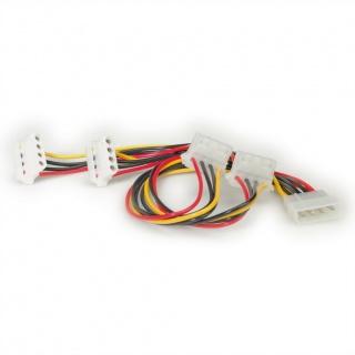 Cablu alimentare Molex la 4 x Molex, Roline 11.03.1003