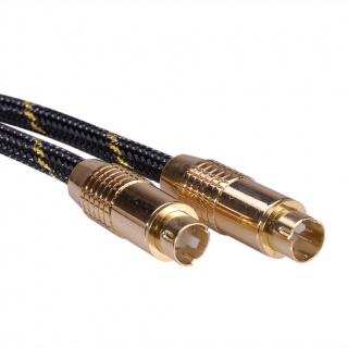 Cablu S-Video GOLD ecranat T-T 5m, Roline 11.09.4265