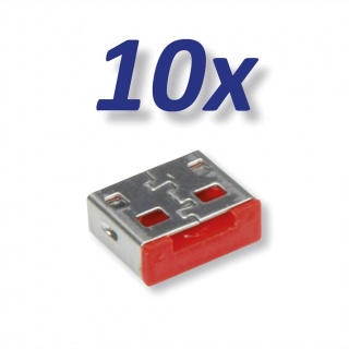 Set 10 buc USB port blocker pentru 11.02.8330, Roline 11.02.8331