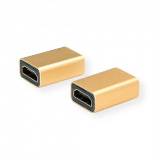 Adaptor GOLD 4K@60Hz HDMI M-M, Roline 12.03.3153