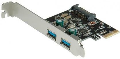 PCI Express cu 2 x USB 3.0, Value 15.99.2111