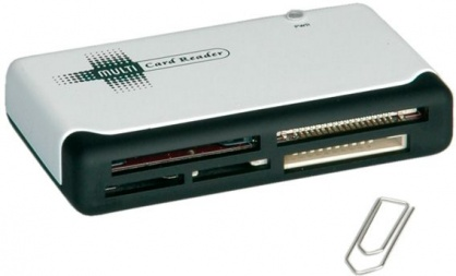 Cititor de carduri Notebook 50+ USB 2.0, Value 15.99.6231