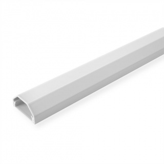 Organizator canal cablu aluminiu 33x26x110mm Alb, Roline 19.08.3110