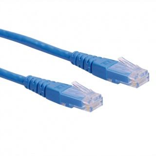 Cablu retea UTP Cat.6 0.3m Albastru, Roline 21.15.1514