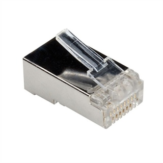 Set 10 buc mufe RJ45 UTP Cat.6 ecranate, Roline 21.17.3061