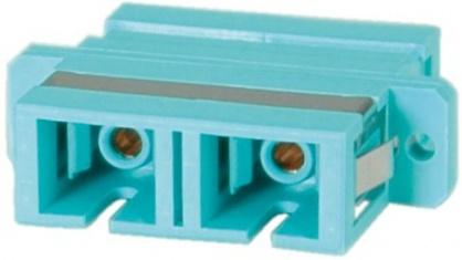Adaptor fibra optica SC-SC Duplex OM3, Value 21.99.0655