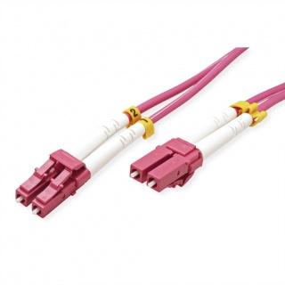 Cablu fibra optica LC-LC OM4 duplex multimode 10m, Value 21.99.8758