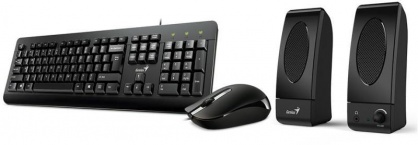 Kit 3 in 1 USB (TASTATURA + MOUSE + BOXE GENIUS) KMS-U130, Genius