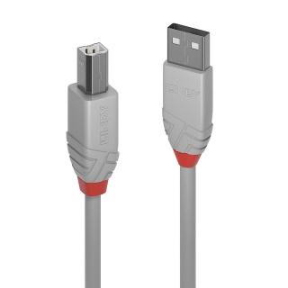 Cablu USB-A la USB-B de imprimanta Anthra Line 2m, Lindy L36688