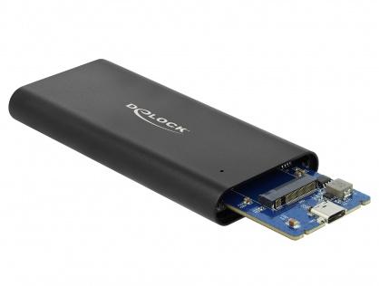 Rack extern USB 3.1 Gen 2-C pentru M.2 NVMe PCIe SSD, Delock 42614