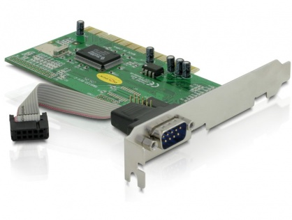 PCI cu 1 port Serial RS232, Delock 89056